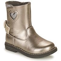Schuhe Mädchen Klassische Stiefel Chicco CALLINA Silbern