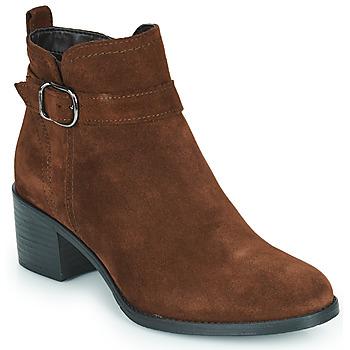 Schuhe Damen Low Boots Tamaris OFFICIE Braun