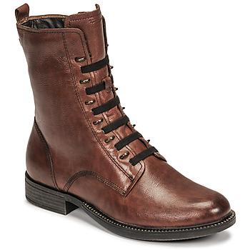 Schuhe Damen Boots Tamaris MISTAK Braun