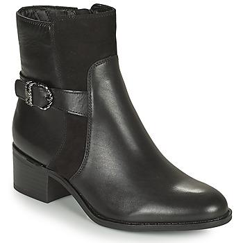 Schuhe Damen Low Boots Tamaris FADER Schwarz