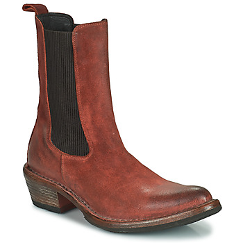Schuhe Damen Low Boots Moma DALLAS D Braun