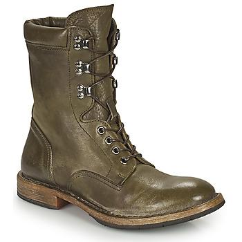Schuhe Damen Boots Moma MINSK Kaki