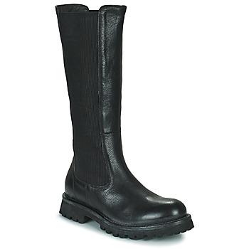 Schuhe Damen Klassische Stiefel Moma DOORS Schwarz