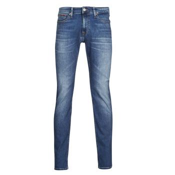Kleidung Herren Slim Fit Jeans Tommy Jeans SCANTON SLIM AE136 MBS Blau
