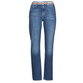 Kleidung Damen Straight Leg Jeans Tommy Hilfiger NEW CLASSIC STRAIGHT HW A LEA Blau