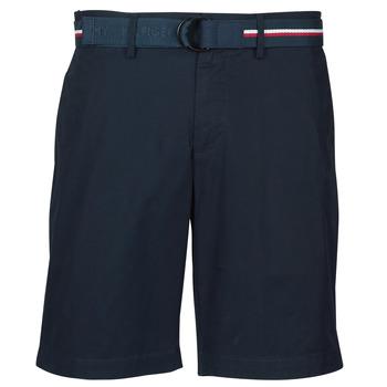 Kleidung Herren Shorts / Bermudas Tommy Hilfiger BROOKLYN LIGHT TWILL Marine