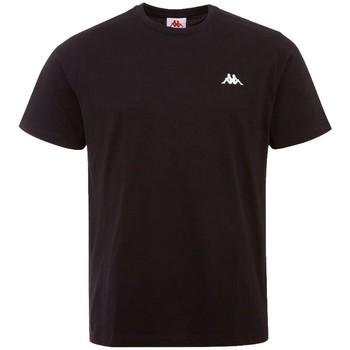 Kleidung Herren T-Shirts Kappa Iljamor T-Shirt Schwarz
