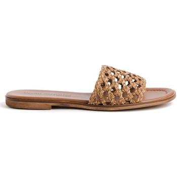 Schuhe Damen Pantoffel Bryan 1526 Braun