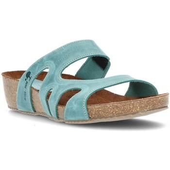 Schuhe Damen Pantoffel Interbios W JEANS
