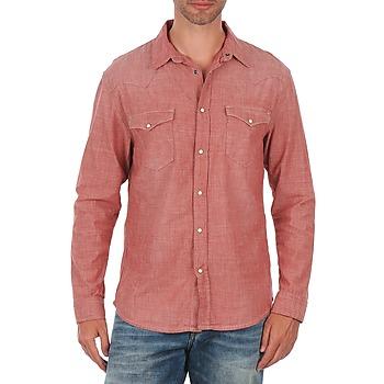 Kleidung Herren Langärmelige Hemden Selected Doha shirt ls r J Rot