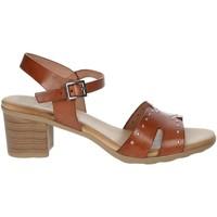 Schuhe Damen Sandalen / Sandaletten Porronet FI2626 Braun Leder
