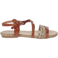 Schuhe Damen Sandalen / Sandaletten Porronet FI2616 Braun Leder