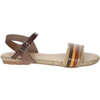 Schuhe Damen Sandalen / Sandaletten Porronet FI2605 Braun Leder