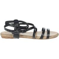 Schuhe Damen Sandalen / Sandaletten Porronet FI2603 Schwarz