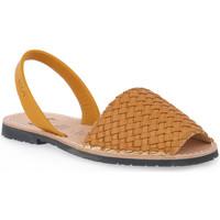 Schuhe Damen Sandalen / Sandaletten Rio Menorca RIA MENORCA MUSTARD 3039 Arancione