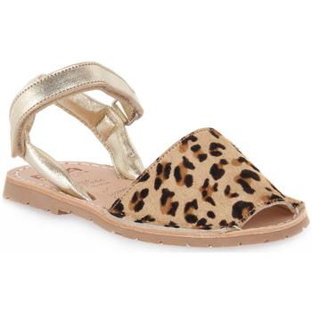Schuhe Mädchen Sandalen / Sandaletten Rio Menorca RIA MENORCA KID LEOPARDO Marrone