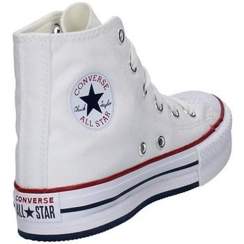 Schuhe Mädchen Sneaker High Converse 671108C WEISS