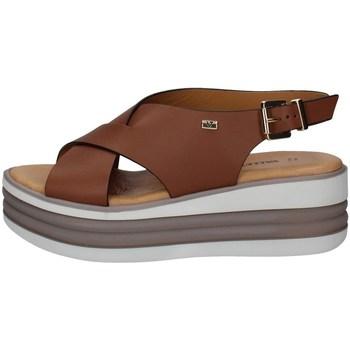 Schuhe Damen Sandalen / Sandaletten Valleverde 28101 LEDER
