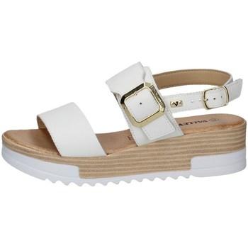 Schuhe Damen Sandalen / Sandaletten Valleverde 16052 WEISS
