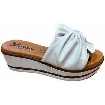 Schuhe Damen Pantoffel Susimoda SUSI1909bia bianco