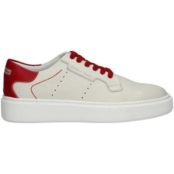 Schuhe Herren Sneaker Low Cristiano Gualtieri G12CRAZYPE21 Elfenbein / ROT