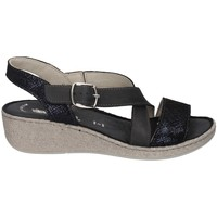 Schuhe Damen Sandalen / Sandaletten Florance 39118 D SCHWARZ