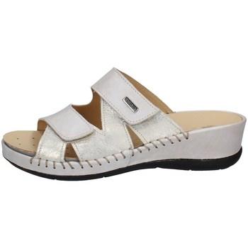 Schuhe Damen Pantoffel Susimoda 1788/58 SAND