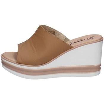 Schuhe Damen Pantoffel Susimoda 164046/46 STEIN