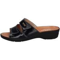 Schuhe Damen Pantoffel Susimoda 1445/17 BLAU
