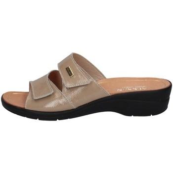 Schuhe Damen Pantoffel Susimoda 1445/17 STEIN