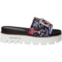 Schuhe Damen Pantoffel Fornarina PE18FE2901 Schwarz