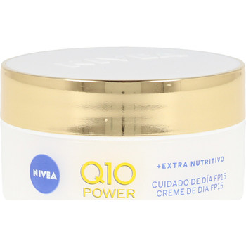 Beauty Damen Accessoires Körper Nivea Q10+ Power Anti-arrugas+extra Nutritivo Spf15  50 ml