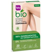 Beauty Damen Accessoires Körper Taky Bio Natural 0% Bandas De Cera Corporales Depilatorias  20 u