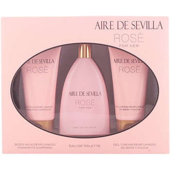 Beauty Damen Parfümsets Aire Sevilla Aire De Sevilla Rosè Set 3 Pz 3 u