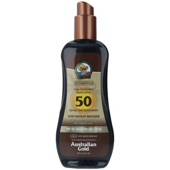 Beauty Sonnenschutz & Sonnenpflege Australian Gold Sunscreen Spf50 Spray Gel With Instant Bronzer