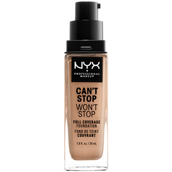 Beauty Damen Make-up & Foundation  Nyx Professional Make Up Can't Stop Won't Stop Full Coverage Foundation medium Buff