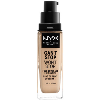 Beauty Damen Make-up & Foundation  Nyx Can't Stop Won't Stop Full Coverage Foundation warm Vanilla 30