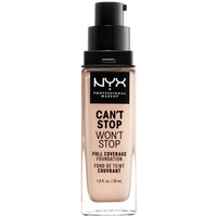 Beauty Damen Make-up & Foundation  Nyx Professional Make Up Can't Stop Won't Stop Full Coverage Foundation light Porcel