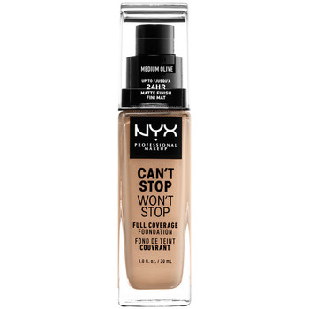 Beauty Damen Make-up & Foundation  Nyx Can't Stop Won't Stop Full Coverage Foundation medium Olive 30