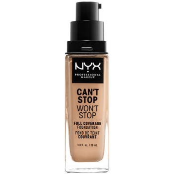 Beauty Damen Make-up & Foundation  Nyx Can't Stop Won't Stop Full Coverage Foundation true Beige 30 m