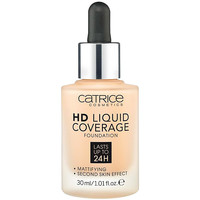 Beauty Damen Make-up & Foundation  Catrice Hd Liquid Coverage Foundation Lasts Up To 24h 030-sand Beig