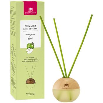 Home Kerzen, Diffusoren Cristalinas Mikado Esfera Ambientador 0% manzana  20 ml