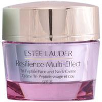 Beauty Damen Anti-Aging & Anti-Falten Produkte Estee Lauder Resilience Multi-effect Face And Neck Creme Spf15 Pnm