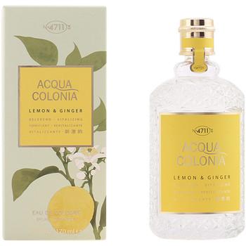 Beauty Damen Eau de toilette  4711 Acqua Cologne Lemon & Ginger Edc Splash & Spray  170 ml