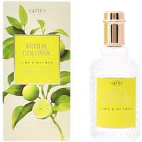 Beauty Eau de toilette  4711 Acqua Cologne Lime & Nutmeg Edc Splash & Spray  50 ml
