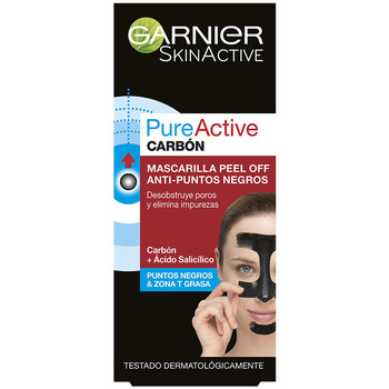 Beauty gezielte Gesichtspflege Garnier Pure Active Carbon Kur/maske Peel-off Puntos Negros