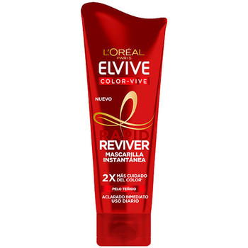 Beauty Spülung L'oréal Elvive Rapid Reviver Color-vive Kur/maske  180 m