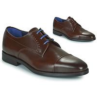 Schuhe Herren Derby-Schuhe Azzaro GARONNE Cognac