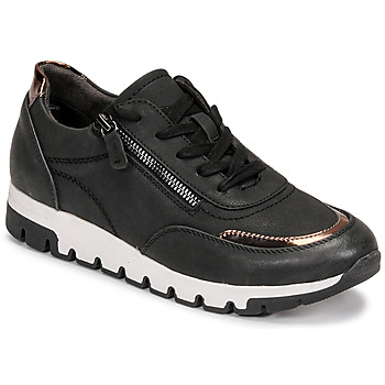 Schuhe Damen Sneaker Low Jana GERFRA Schwarz