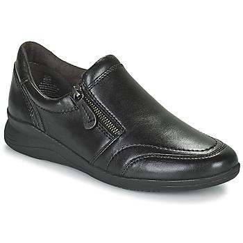 Schuhe Damen Sneaker Low Jana ZERRA Schwarz